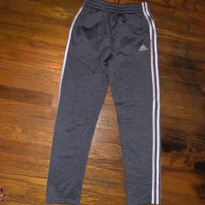 Adidas track pants. Kids 14/16 which = Woman xs/s